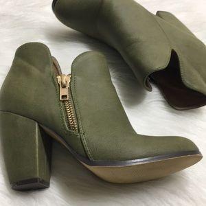 Michael Antonio Shoes - Michael Antonio Green Ankle Boots